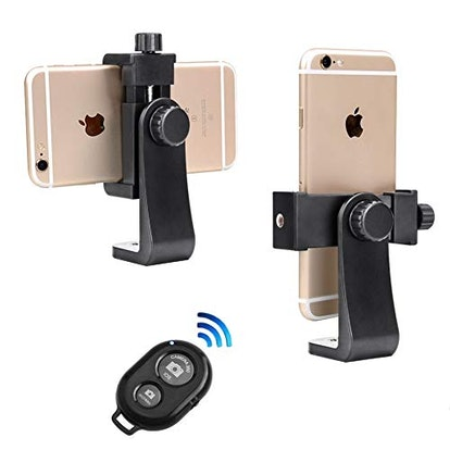 Phone Tripod Mount with Remote by Jansite