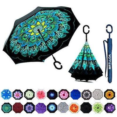 MRTLLOA Double Layer Inverted Umbrella