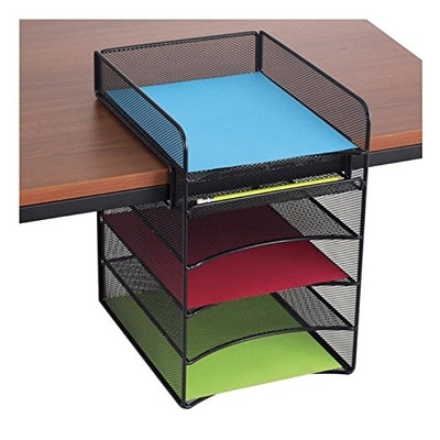 Safco Products Hanging Desk Organizer