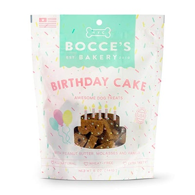 Bocce's Bakery Birthday Cake Dog Treat