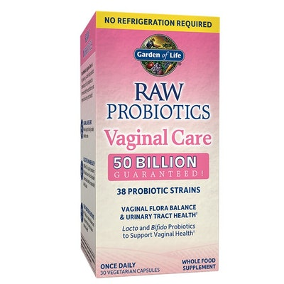 Garden of Life RAW Probiotics Vaginal Care (30 capsules)
