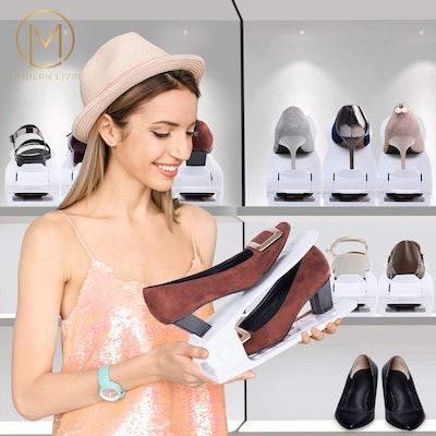 Modern Livin Shoe Slots Organizer (10-Pack)