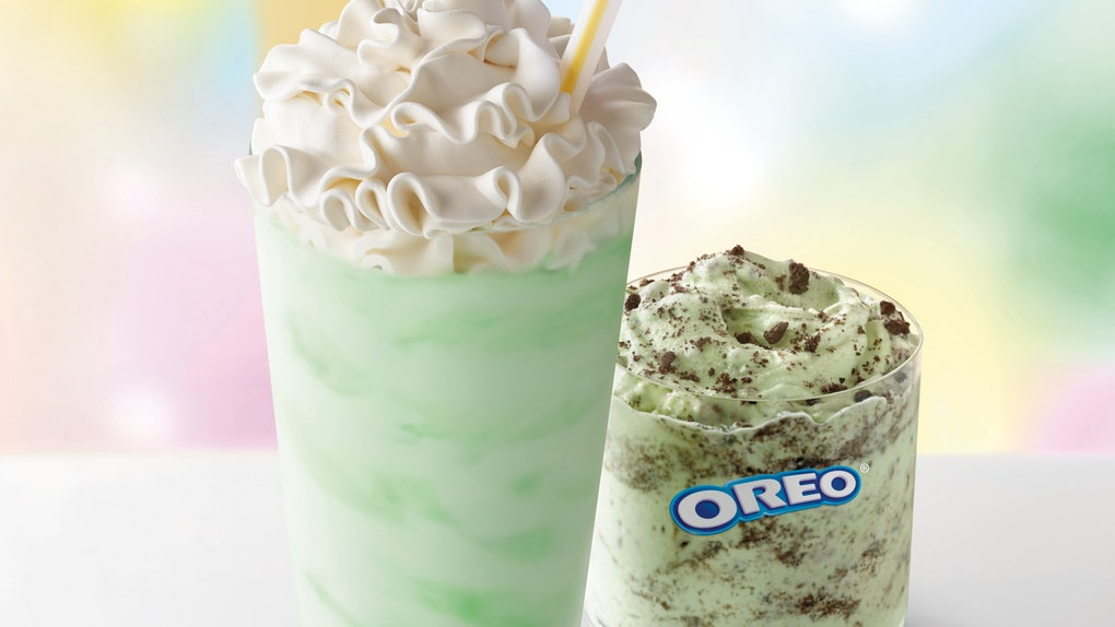 McDonald's Shamrock Shake is coming back for 2020 with a brand new McFlurry.