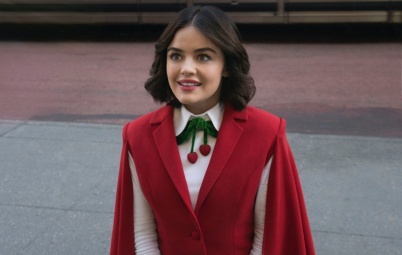 Lucy Hale as Katy Keene in the new CW show