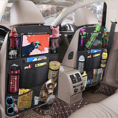 ULEEKA Car Backseat Organizer (2-Pack)