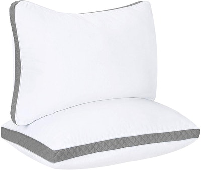 Utopia Bedding Gusseted Quilted Pillow (2-Pack)