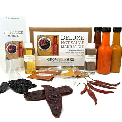 Grow and Make Deluxe DIY Hot Sauce Making Kit