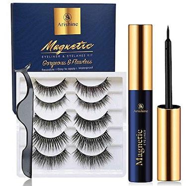 Arishine Magnetic Eyelashes with Eyeliner