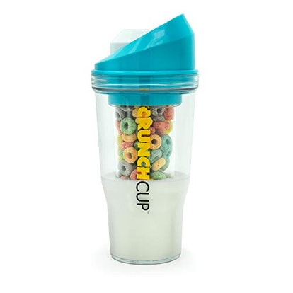 The CrunchCup A Portable Cereal Cup