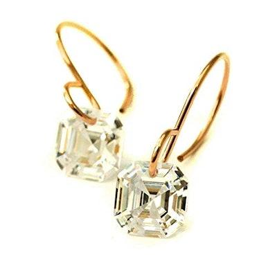 Kahili Creations Cubic Zirconia Earrings