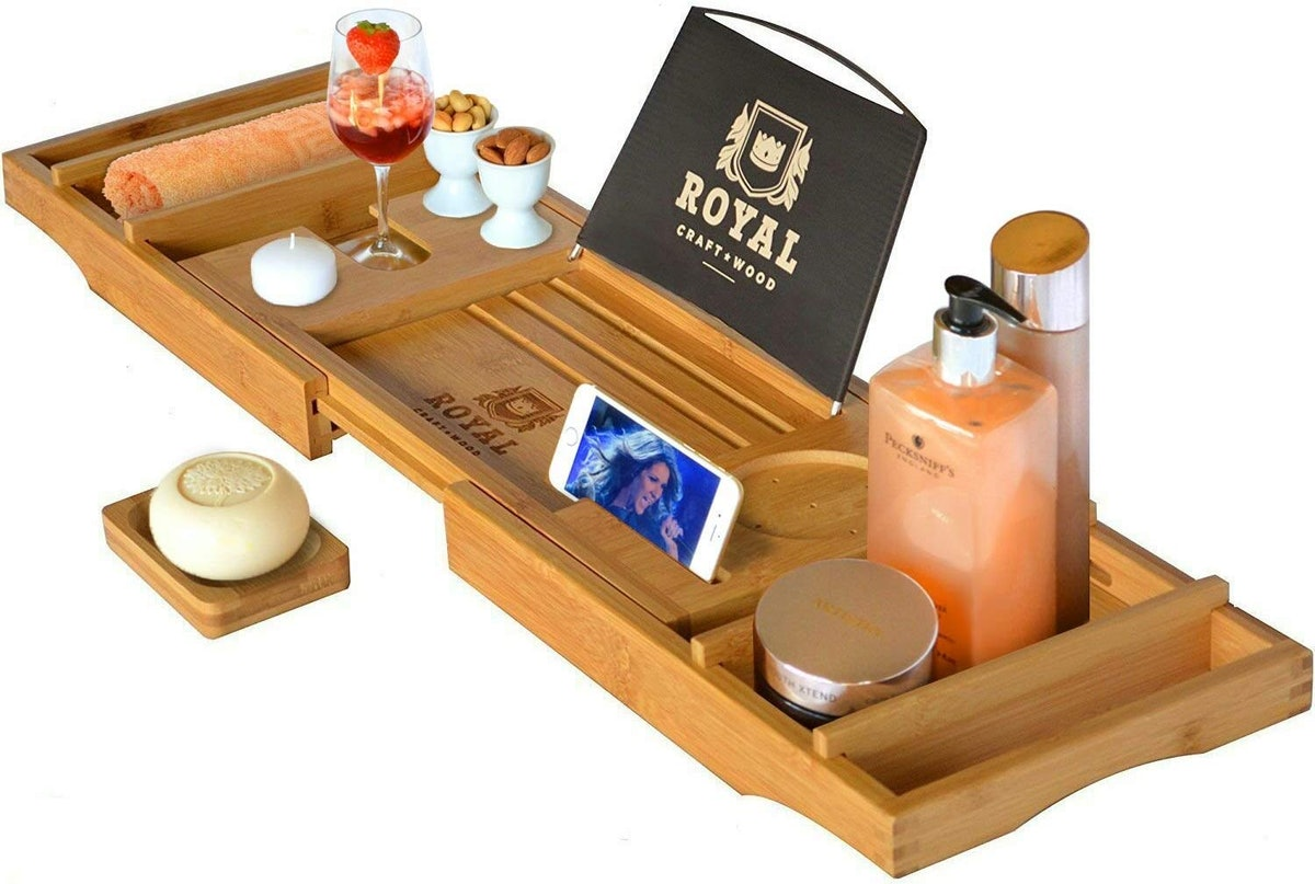 ROYAL CRAFT WOOD Luxury Bathtub Caddy