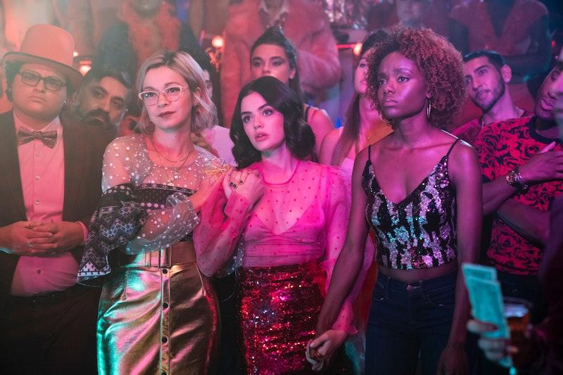 Julia Chan as Pepper Smith, Lucy Hale as Katy Keene and Ashleigh Murray as Josie McCoy in 'Katy Keene'