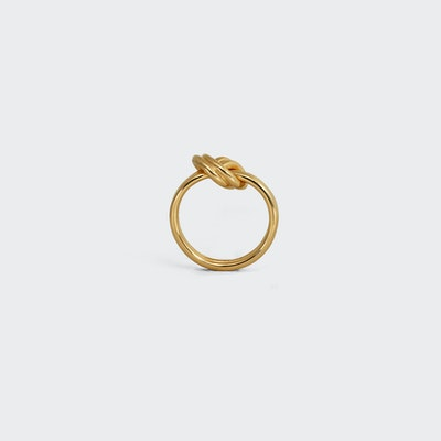 Knot Double Ring