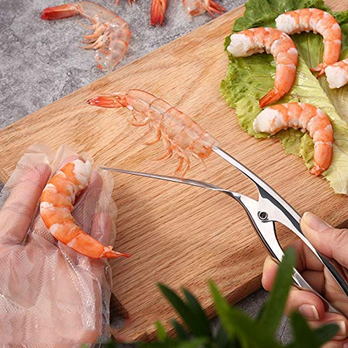 ELEDUCTMON Shrimp Deveiner and Peeler