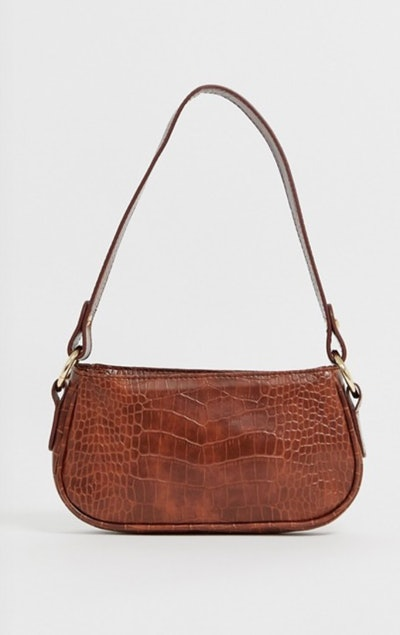 Croc Effect 90's Shoulder Bag
