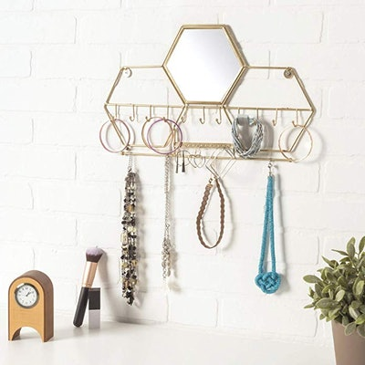 Excello Global Products Mounted Jewelry Organizer