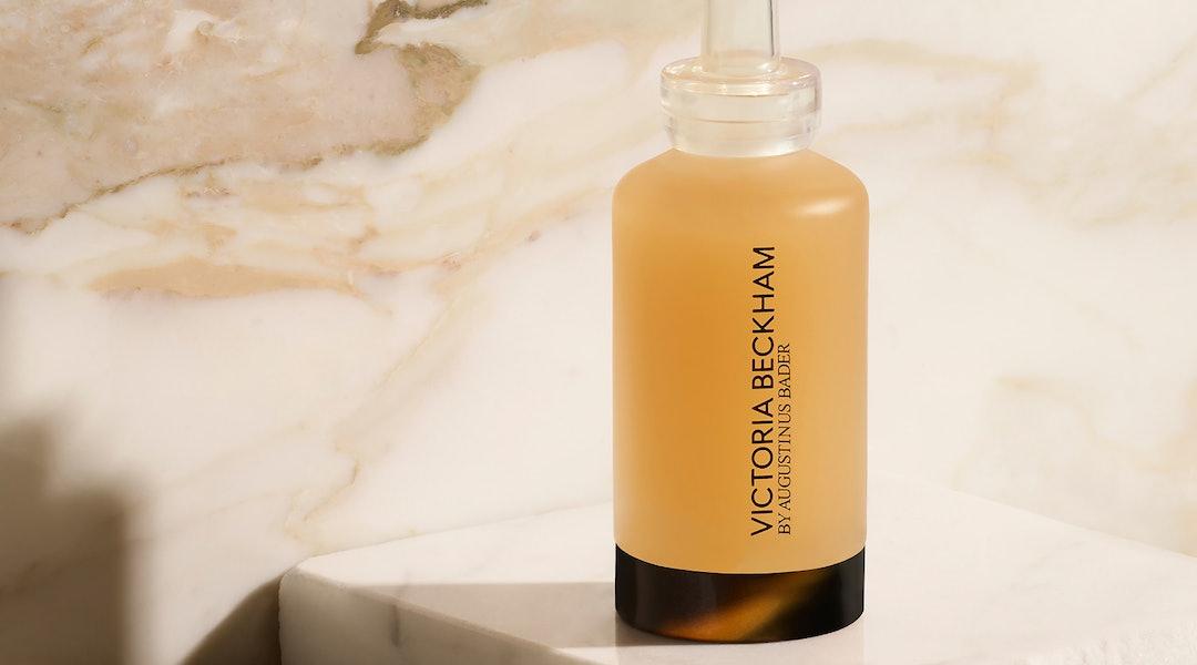 Victoria Beckham Beauty's new Cell Rejuvenating Power Serum in bottle.