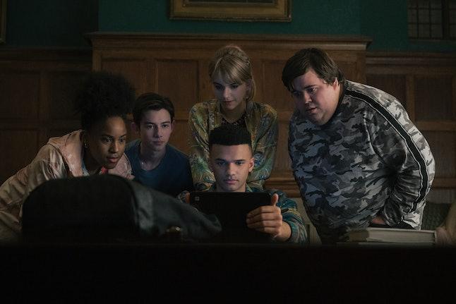 PICTURED Asha Bromfield, Griffin Gluck, Emilia Jones, Petrice Jones, Jesse Camacho in 'Locke & Key'