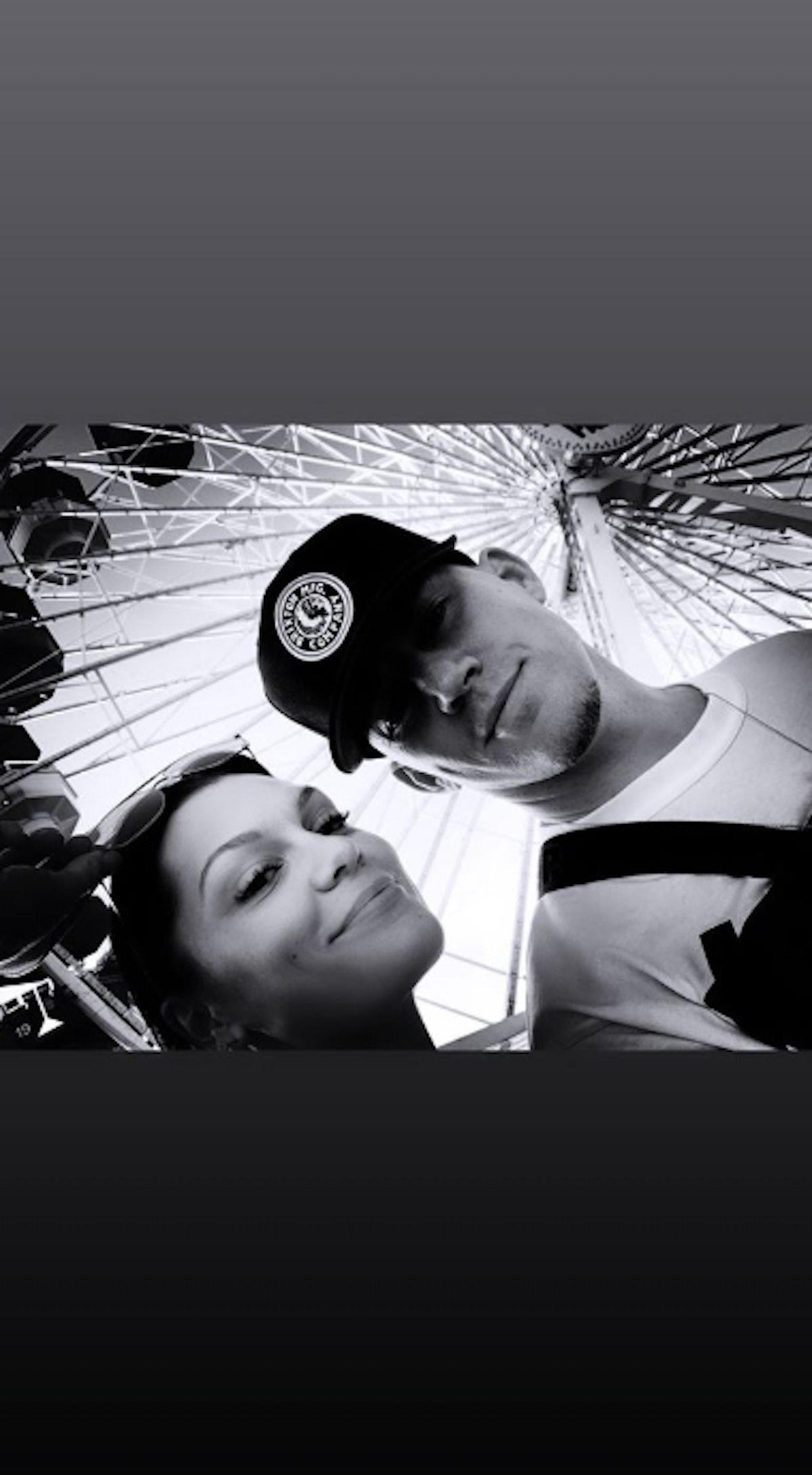 Photos Of Channing Tatum & Jessie J Together