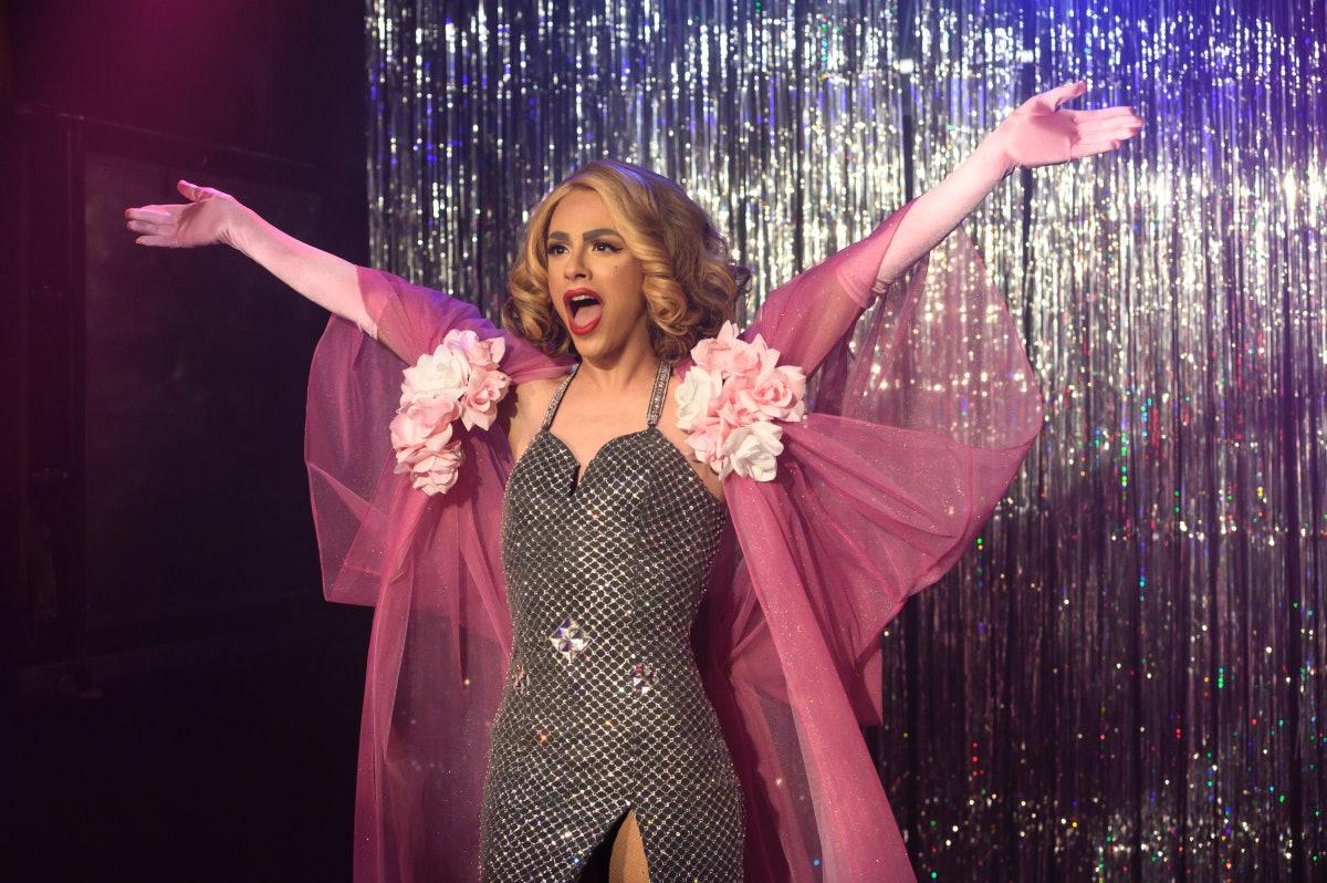 Ginger Lopez on 'Katy Keene'