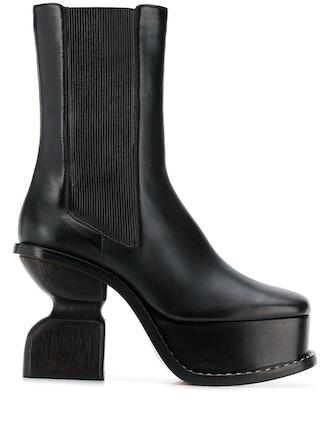 105mm Platform Boots