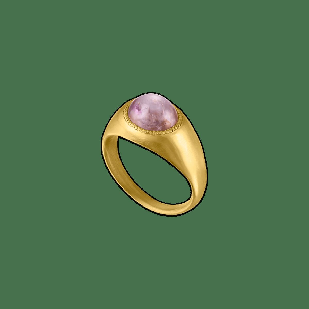 Brown Star Sapphire Roz Ring
