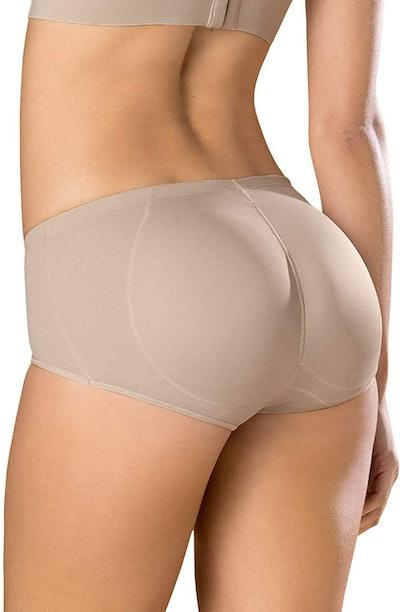 Leonisa Instant Butt Lift Padded Panty Boyshort