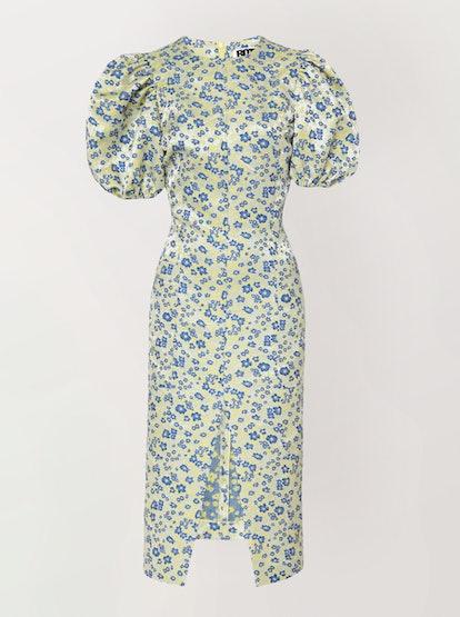 Katarina Satin Midi Dress
