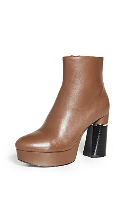 Ziggy Platform Booties