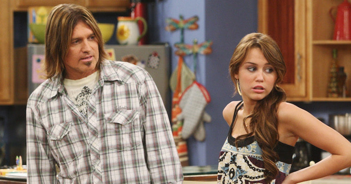 Miley and Billy Ray Cyrus starred in 'Hannah Montana.'