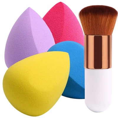 BEAKEY Makeup Sponge Set (5-pieces)