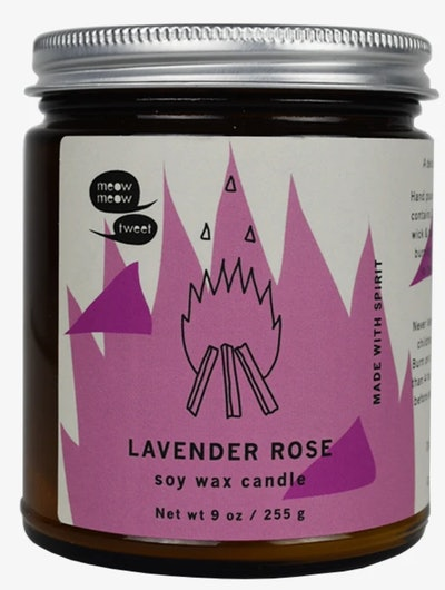 Lavender Rose Soy Candle