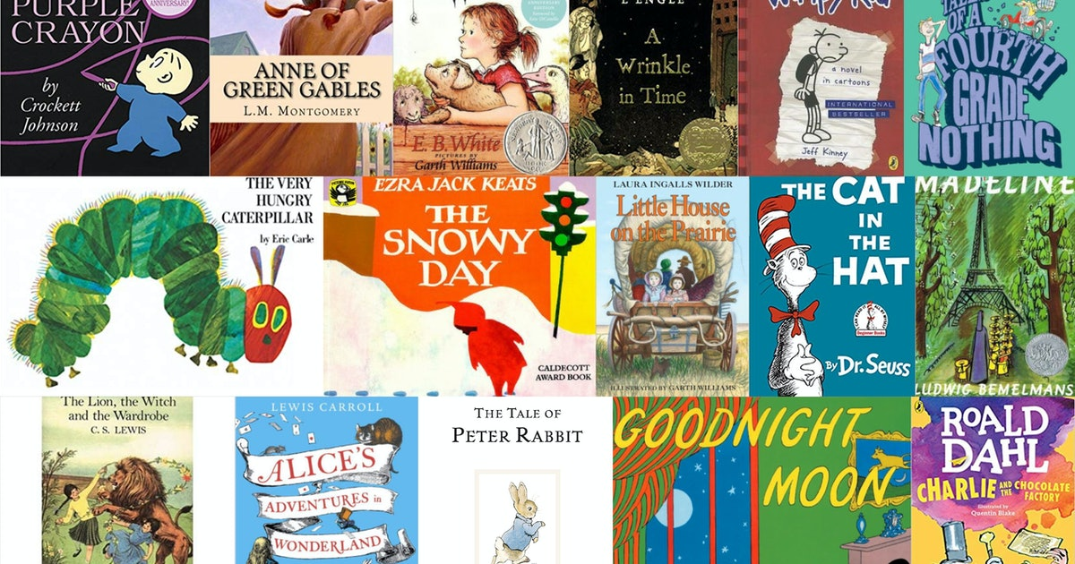 20 Classic Books To Read Aloud To Your Kids & Ignite Their ...
