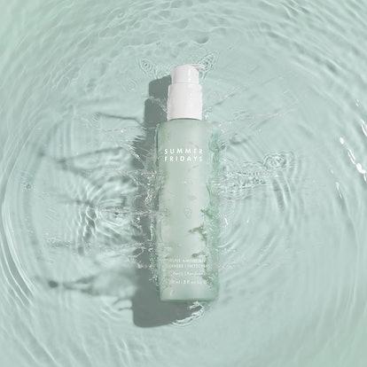 Summer Fridays' new Super Amino Gel Cleanser in bottle.