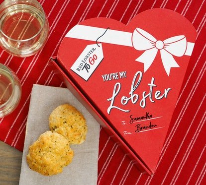 Red Lobster has cheddar by biscuit heart-shaped boxes for Valentine's Day 2020.