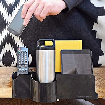 The Night Caddy Deluxe Bedside Organizer
