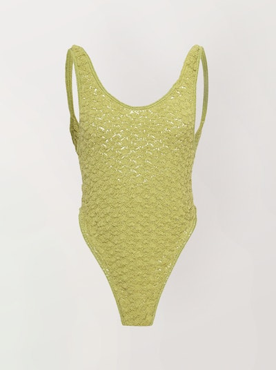 Arete Crocheted Cotton Swimsuit