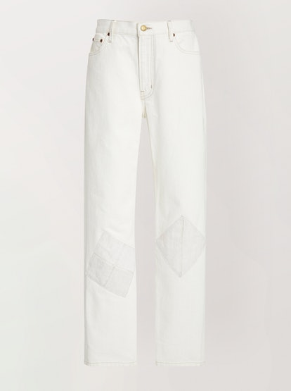 Arts Rigid Mid-Rise Straight-Leg Jean