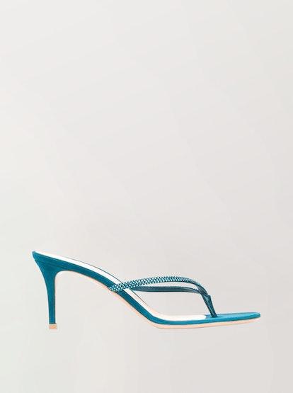 Calypso Heeled Flip-Flops
