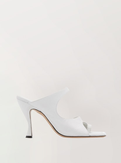 Leather Square Sandals