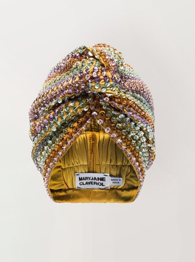 Malibu Beaded Sequin Turban