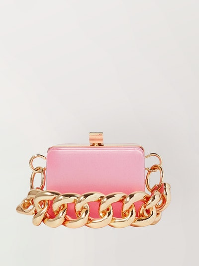 Ralphie Mini Satin Shoulder Bag