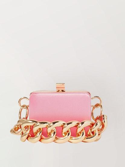 Ralphie Mini Satin Shoulder Bag