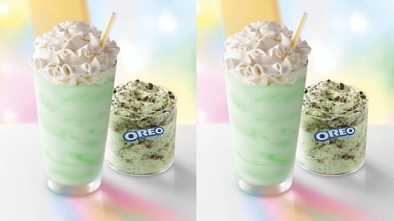 McDonald's Shamrock Shake is coming back earlier than you might think.