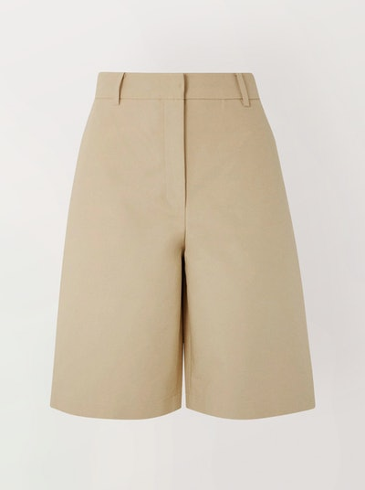 Cotton-Poplin Shorts