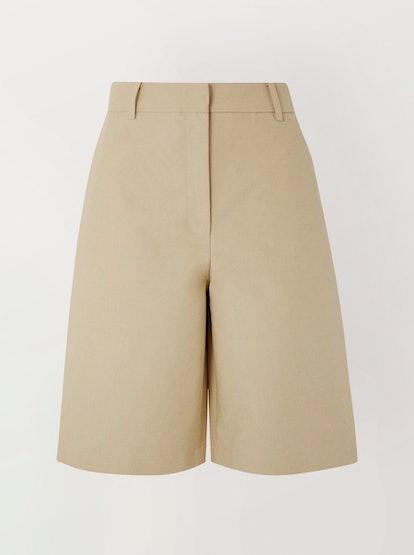 Cotton-Poplin Shorts