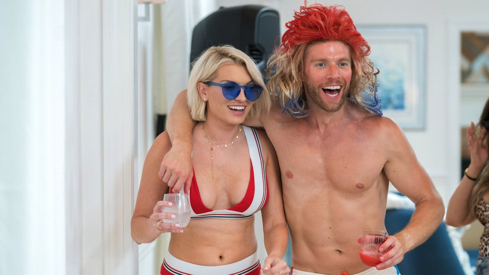 Lindsay and Kyle at the Summer House 4th of July party in 2018.