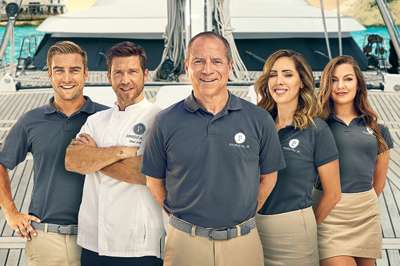 The cast of Below Deck Sailing Yacht
