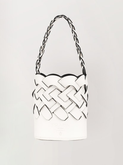 Vitello Intreccio Bucket Bag