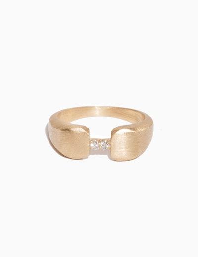 Bridged Signet Ring